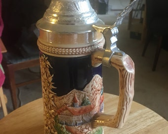 Vintage beer stein Germany Bonn