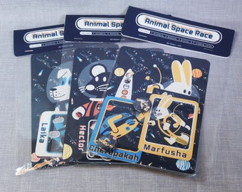 Animal Space Race Gift Pack