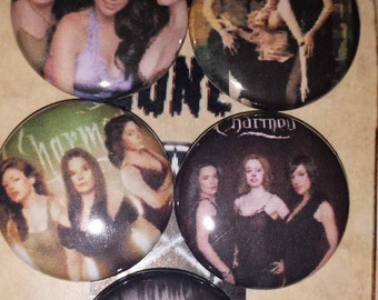 Charmed 1 inch pin button