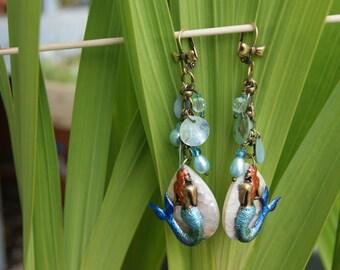 Mermaid Treasure Earrings