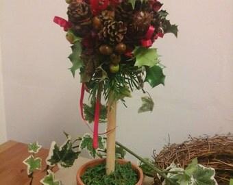 Christmas topiary trees