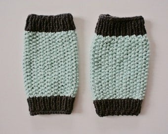 Knit Toddler Leg Warmers