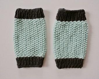 Knit Toddler Leg Warmers