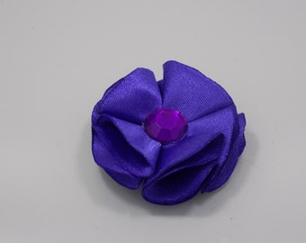 Purple satin flower