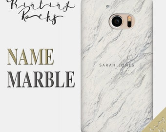 Personalized Marble HTC Case Custom Name Marble HTC Case Htc 300 Case Htc 310 Case Htc 400 Case Htc One SU Case Htc 500 Htc 510 Htc 516 13