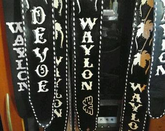 Waylon Style Guitar Strap
