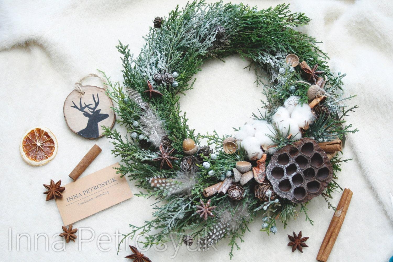 #694839 Couronne De Noël Rustique Pour Porte Dentrée. Couronne 6029 decoration de noel rustique 1500x1000 px @ aertt.com