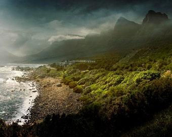 Cape Town, South Africa, 12 Apostles,  mountains, photography, wall art ocean, beach