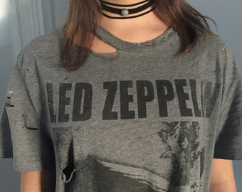 Led Zeppelin Distressed Tee