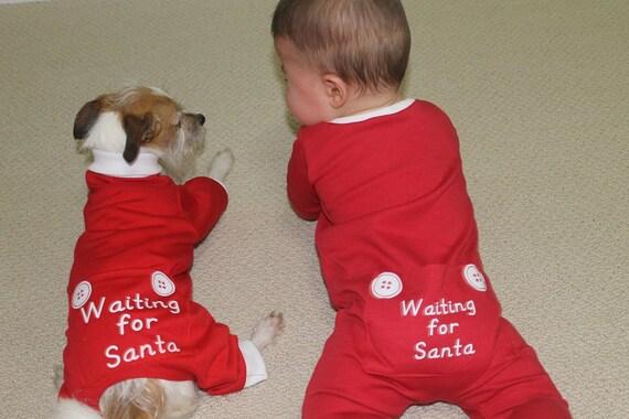 Dog Babies Christmas Onesies