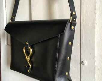 Reader bag in black
