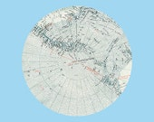 BID on IG! RESERVED Original Map Collage / Art Auction on Instagram @selflesh