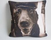 Pet Photo Pillow, Dog Lover Sympathy Gift, Pet Pillow