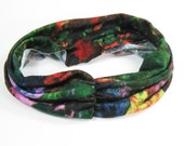 Bright Running Headband - Bright floral
