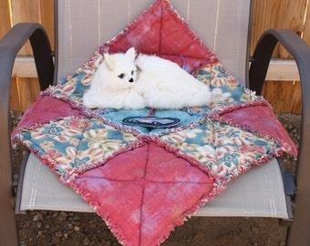 Cat Blanket, Catnip Blanket, Cat Bed, Cat Quilt, Small Dog Bed, Luxury Pet Bed, Cat Bed With Toy, Catnip Blanket, Pet Mat, Fabric Cat Quilt