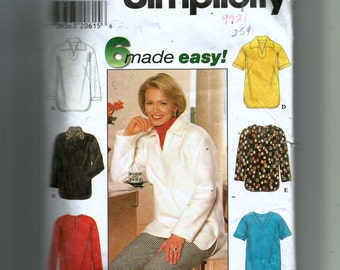 Simplicity Misses' Tunic Pattern 7764