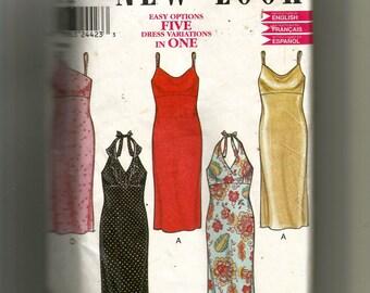 New Look Misses' Dress Pattern 6035