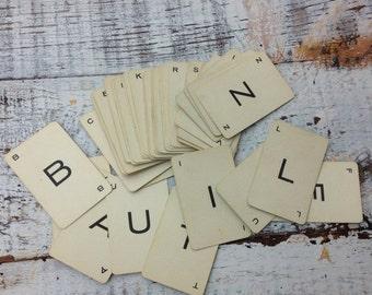 40% FLASH SALE- Vintage Alphabet Cards-Probe Game Cards