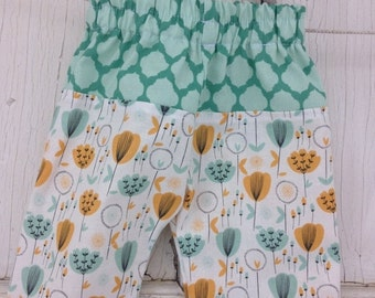 35% OFF CRAZY SALE- Whimsies Baby Loungers-Eco Friendly Pants-Florals
