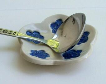 Ceramic Plate, Pretty Little Ume Plate, Ume Blossom