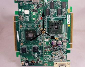 AMD ATI Computer Circuit Board Desk Clock