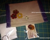 Four Pocket Stitching Pouch & Extras!