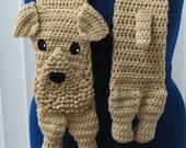 Air Dale Dog Scarf Crochet Pattern