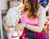 Rubypearl I Love Pink Slip Dress