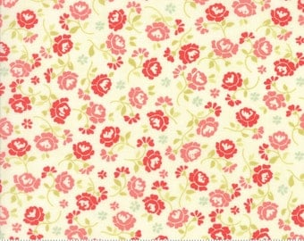 Chestnut Street - Flower Medley in Multi: sku 20274-14 cotton quilting fabric by Fig Tree and Co. for Moda Fabrics - 1 yard
