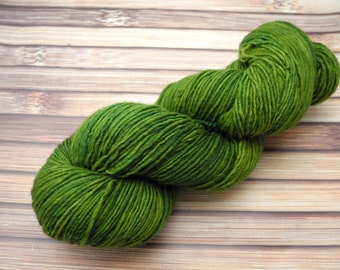 King of the Pond Id Squishy Singles Hand Dyed Yarn - In Stock