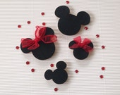 Disney Family Wood Mickey Mouse Ears.  Special order for Lisa.