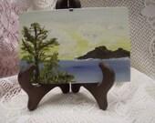 Glass frame, Seascape
