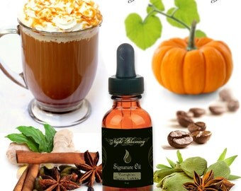 Pumpkin Chai Latte Signature Oil Blend for October