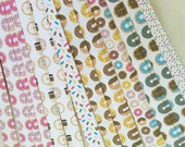 "Half price* 5/8"" Weaving Star Paper~ Doughnuts (50 strips)"