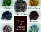 May - Fiber Color of the Month - Game of Thrones Edition