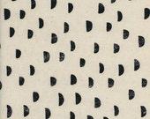 Cotton + Steel Print Shop - moons black - 50cm