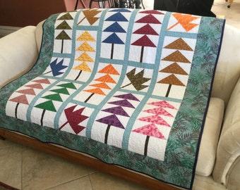 Patchwork Lap quilt #YP024