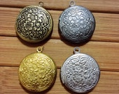FLOWER LOCKET 20mm Code 116.914