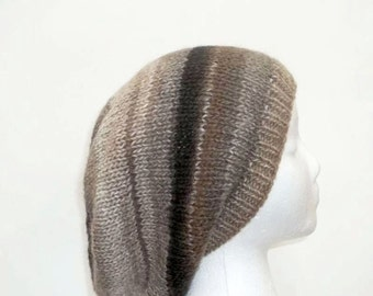 Oversized beanies shades of brown and gray    5101