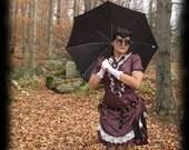 Amethyst Ruffles Dress & Bustle Skirt