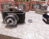 BROKEN Miniature Vintage Camera (for craft projects)