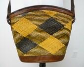 BANIG2 . woven shoulder bag