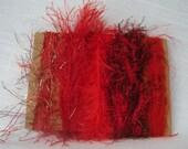 Red Yarn Scraps Valentine Craft Supplies 1225
