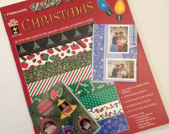 Scrapbook Paper - Christmas by Paper Pizazz booklet