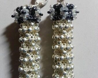 Watchtower earrings - Cont.Stellation series