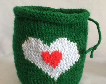 Legend of Zelda heart container Dice Bag/Pouch