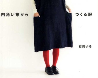 Let's Make Simple Clothes from Squared Cloth  - Japanese Craft Book