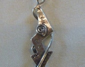 Sterling Silver Arrow Charm Pendant Necklace