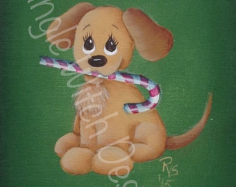 Go Fetch Ornament - Decorative Painting Pattern ePacket