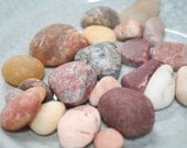 Natural Lake Erie Beach Gems, Stones